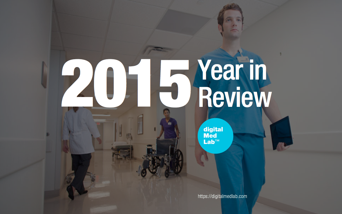 digitalMedLab - 2015 a year in review